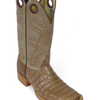 Men Boots Belly Caiman Tail Glossy Late Waxy
