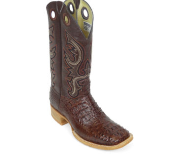 Men Boots Hornback Caiman Brown