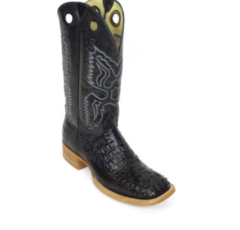 Men Boots Hornback Caiman Black