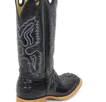 Men Boots Hornback Caiman Black