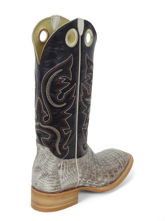 Men Boots Belly Caiman Tail Natural