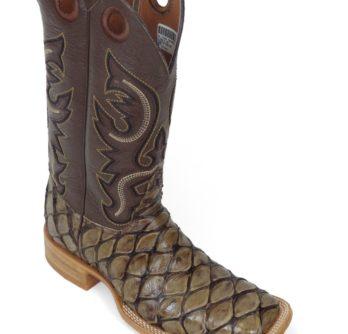 Men Boots Pirarucu Mink