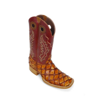 Men Boots Pirarucu Cognac