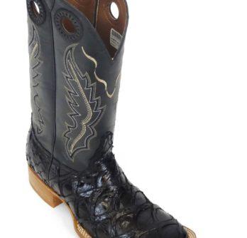 Men Boots Pirarucu Black