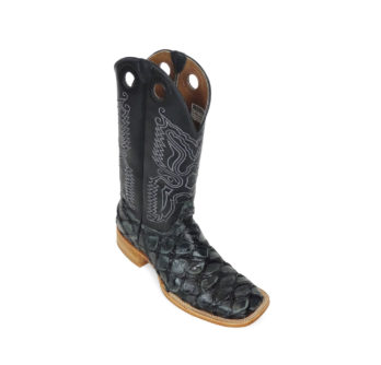 Men Boots Pirarucu Charcoal