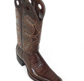 Men Boots Caiman Brown