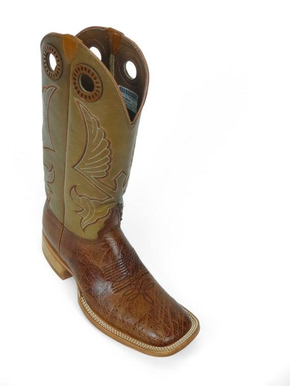 Men Boots Belly Ostrich Brandy Bruciato