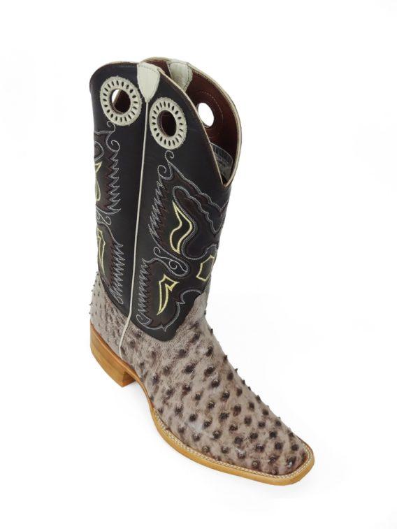 Men Boots Ostrich kango Tabac RG