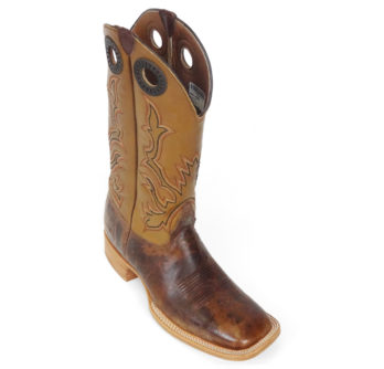 Men Boots Cow Hide Track Tan