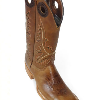 Lady Boots Cow Hide Track Tan