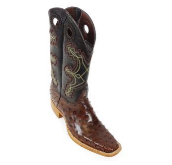 Men Boots Ostrich Kango Tabac CC