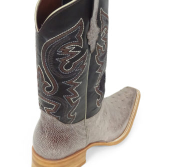 Men Boots Belly Ostrich Kango Tabac RG