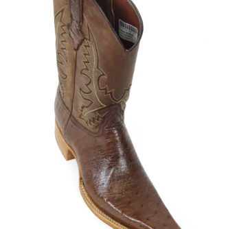 Men Boots Belly Ostrich Kango Tabac CC