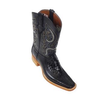 Men Boots Ostrich Black CLS