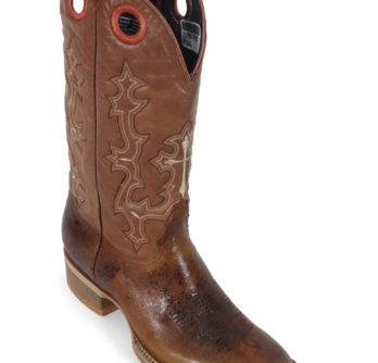 Men Boots Cow Hide Track Tan