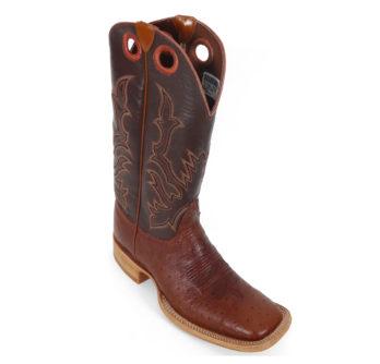 Men Boots Belly Ostrich Cognac CC