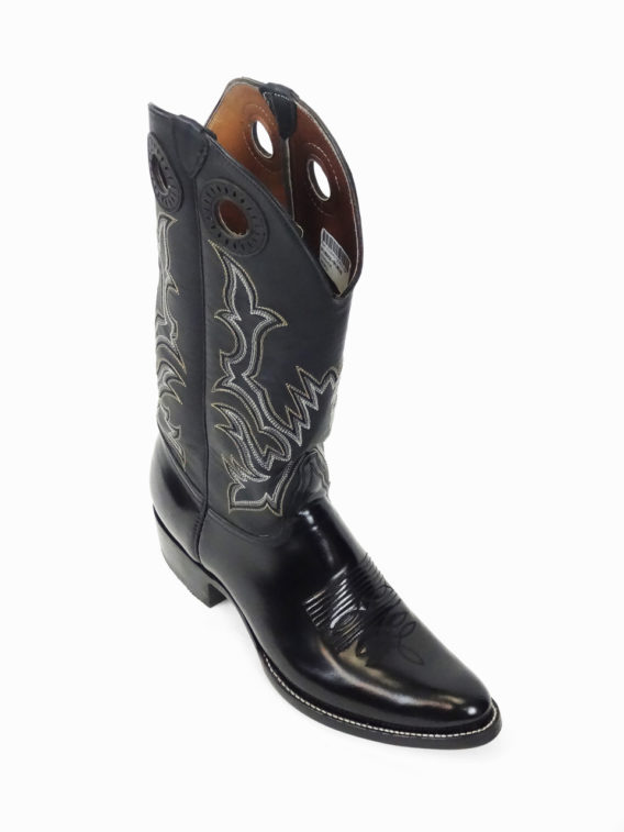 Men Boots Cow Hide Black